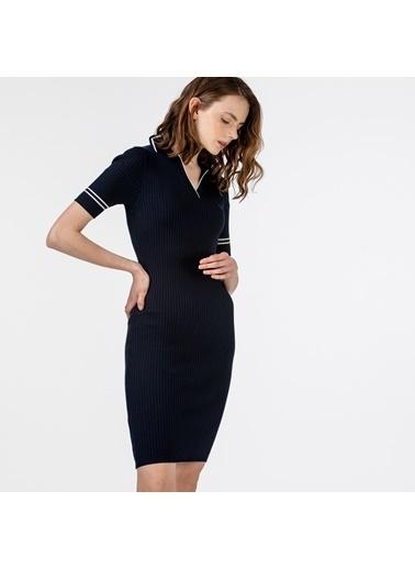 Lacoste Kadın Kısa Kollu Elbise EF0150.50L Lacivert